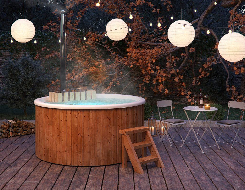 Garten Whirlpool von Isidor